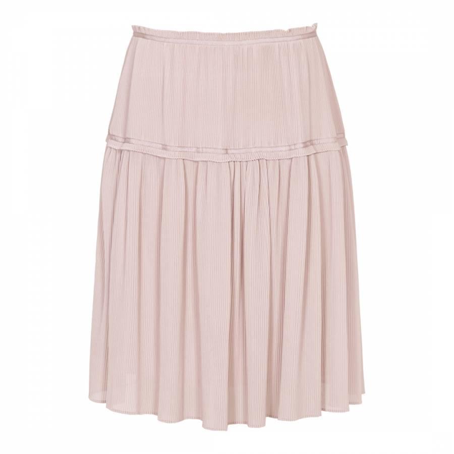 55fef9dff Pink Dali Plisse Short Skirt - BrandAlley