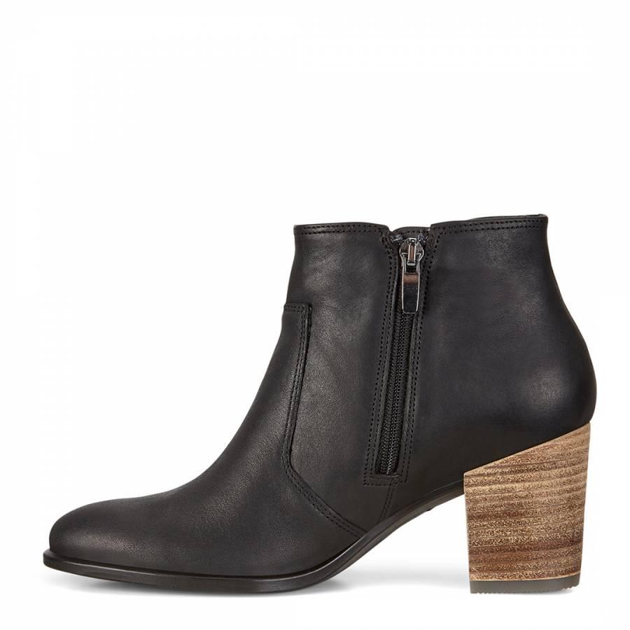 c7d267dcd Black Leather Shape 55 Blackroad Ankle Boots - BrandAlley