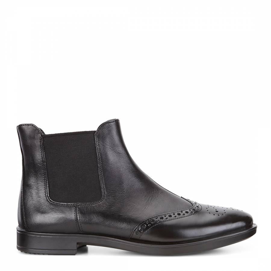 cbf3fa516 Black Nova Cow Shape 15 Chelsea Boots - BrandAlley
