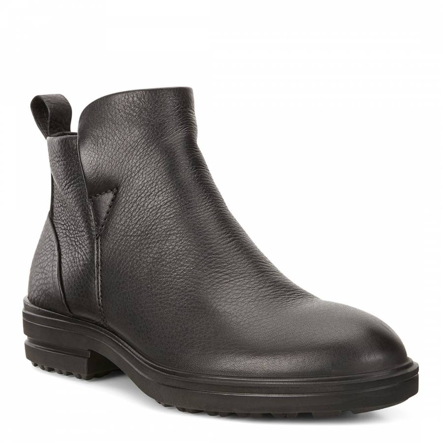 0a688617d Black Leather Zoe Chelsea Boots - BrandAlley