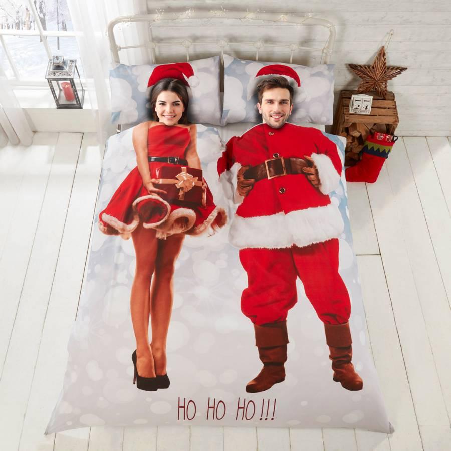 Selfie Santa Double Duvet Cover Set Brandalley
