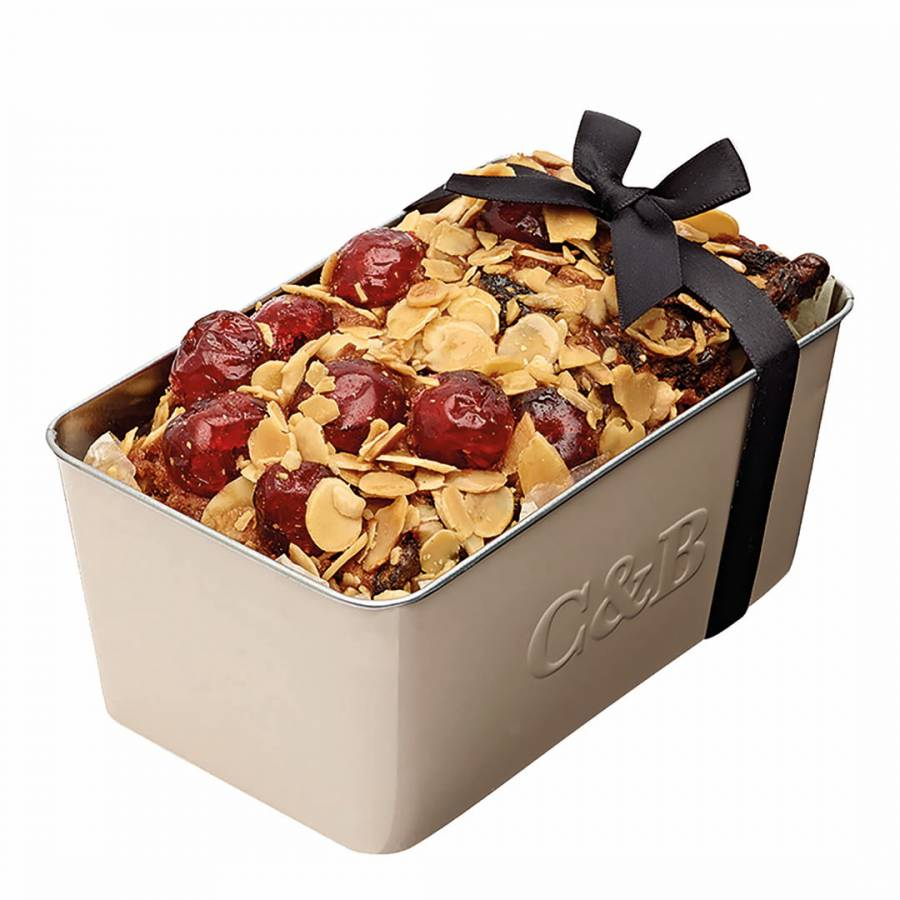 Cherry Cake In A Loaf Tin