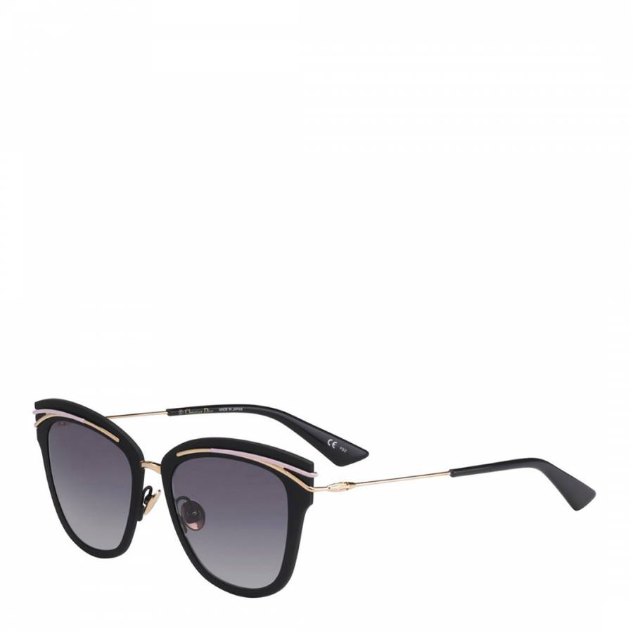 c64cf1d9a358 Ladies Black and Gold So Dior Sunglasses 53mm - BrandAlley