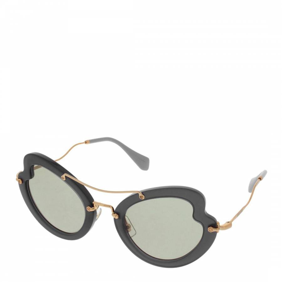 04ea51def Women's Black Miu Miu Sunglasses 52mm - BrandAlley