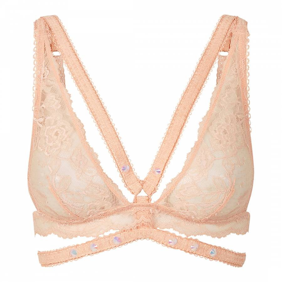 916ad4c6de56a Pleasure State Couture Pink Spanish Villa Marina Monrovia Soft Cup Bra