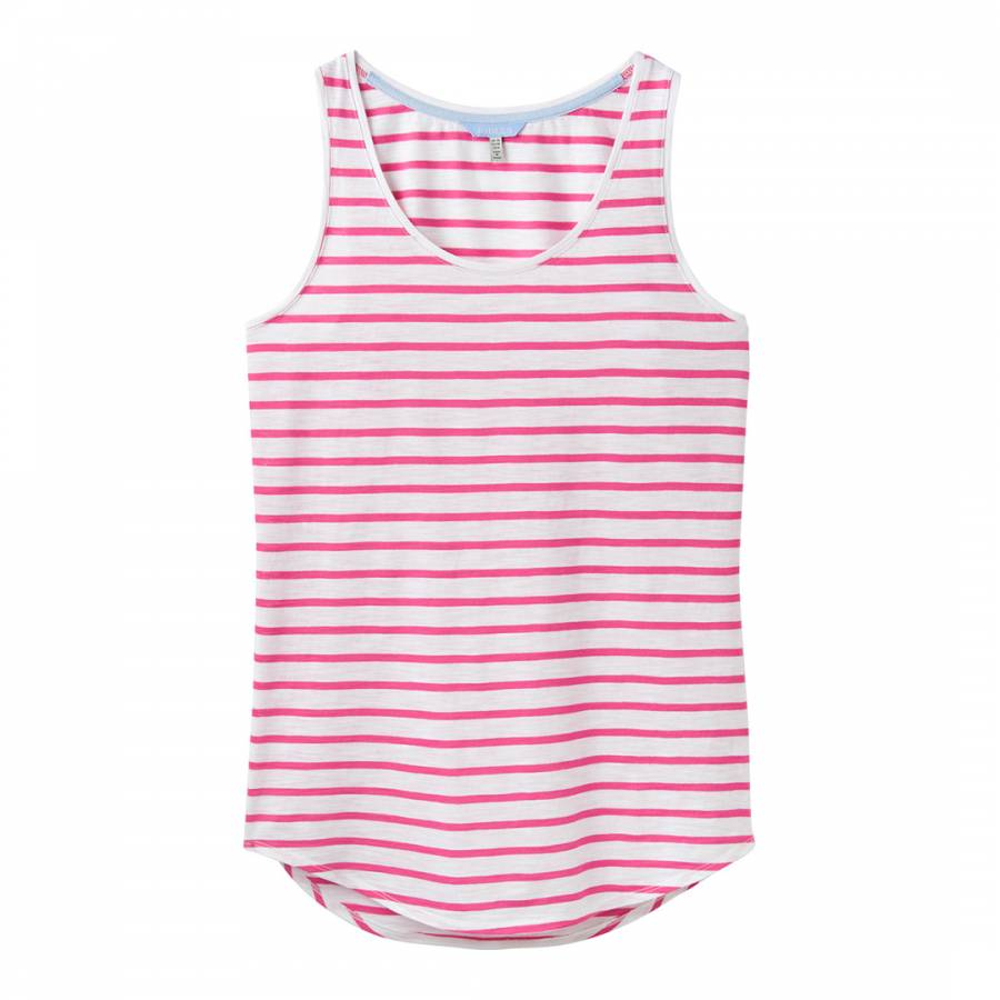 Joules Womens Bo Jersey Vest in LIGHT PINK