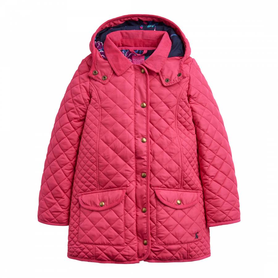 9f26c9ce8 Girls Pink Newdale Quilted Jacket - BrandAlley