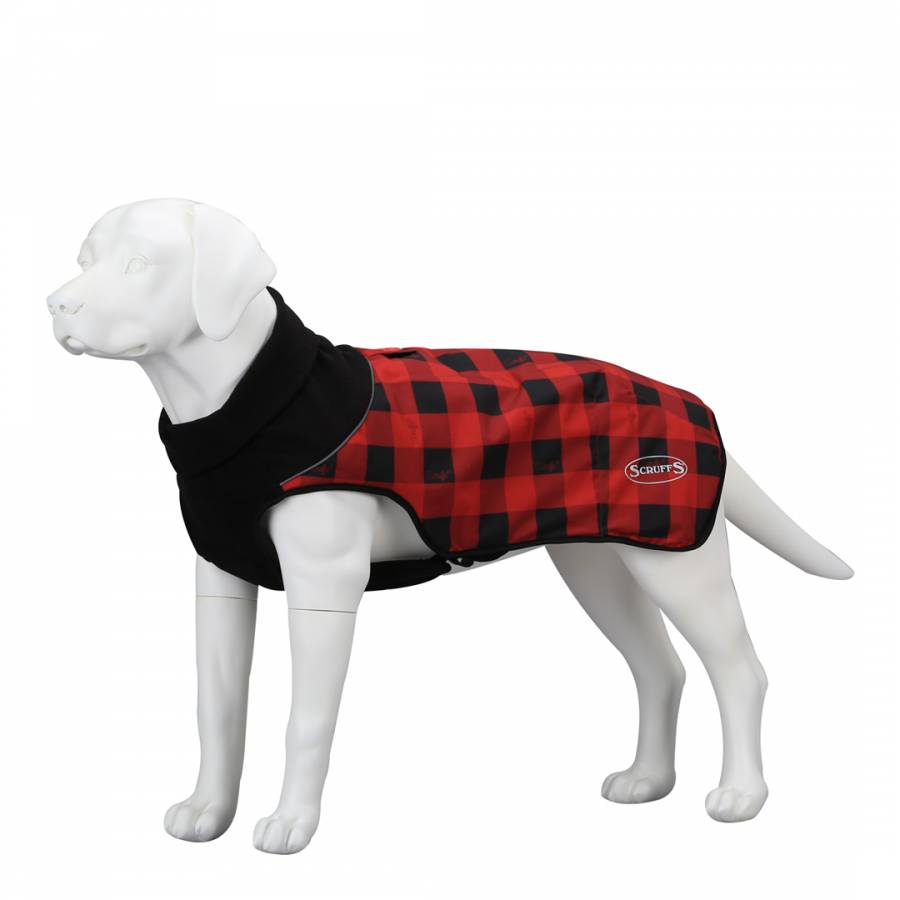 836d40d0ff 40cm Jesse James Scruffs Quilted Thermal Dog Coat - BrandAlley