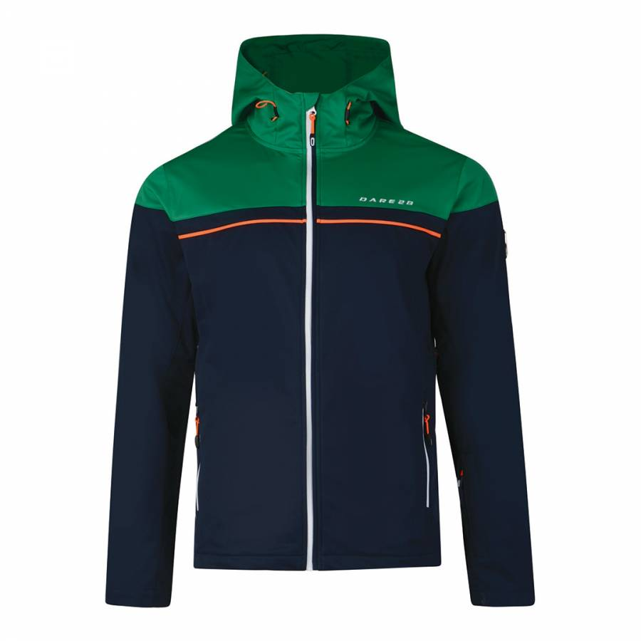 Outer high green amnesty softshell jacket brandalley