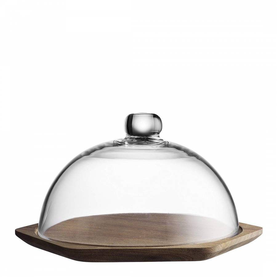 Modern Kitchen Cheese Board With Dome Lid Brandalley