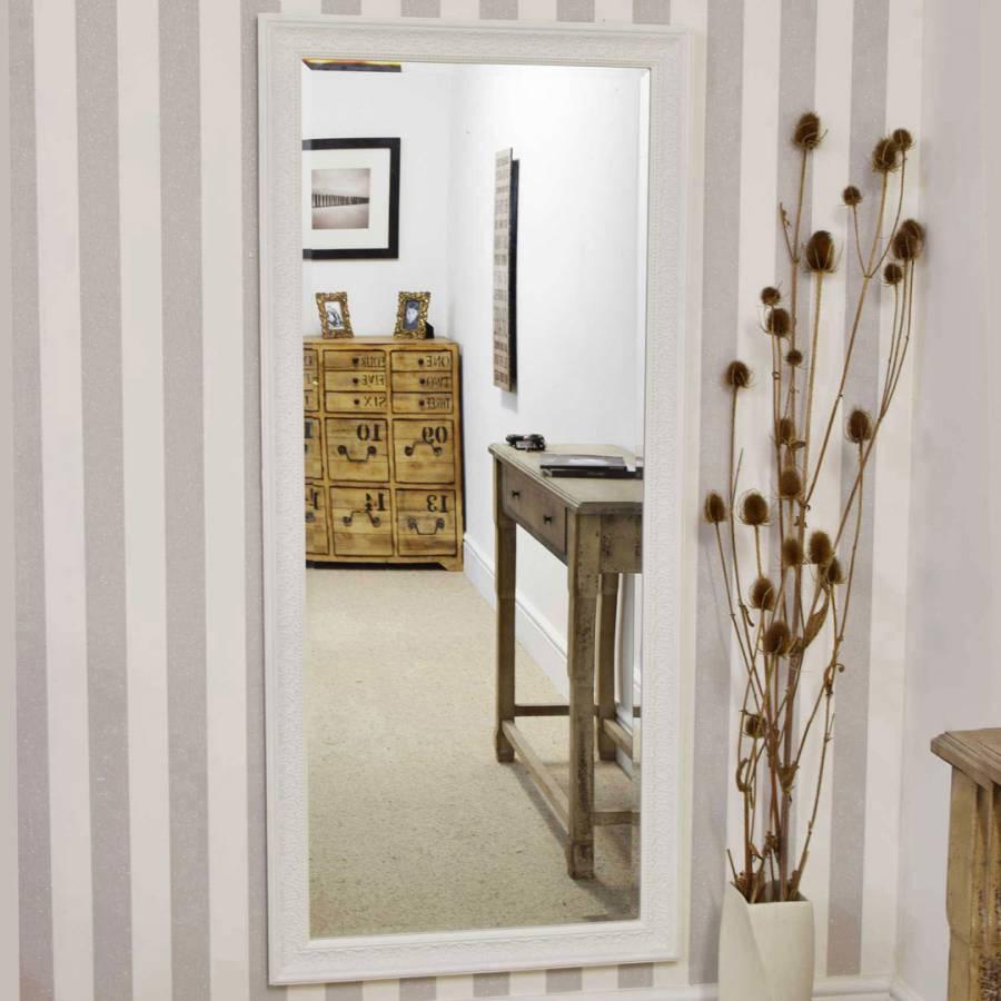 Excellent Langton Ivory Shabby Chic Dress Mirror 160X73Cm Download Free Architecture Designs Scobabritishbridgeorg