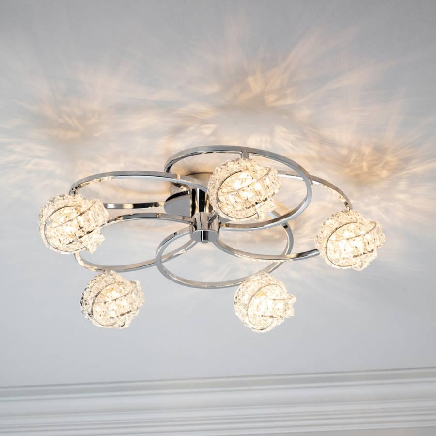 Talia 5 Arm Ceiling Light Brandalley