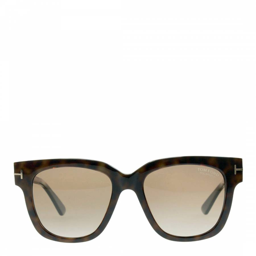 cad0eb9010c0 Women  Brown Havana Gold Tom Ford Sunglasses 53mm - BrandAlley