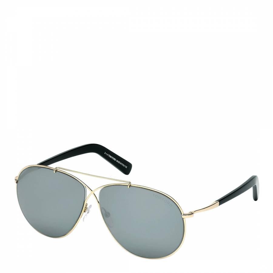 ee4dc4421c Women s Rose Gold   Black Metal Tom Ford Sunglasses 61mm - BrandAlley