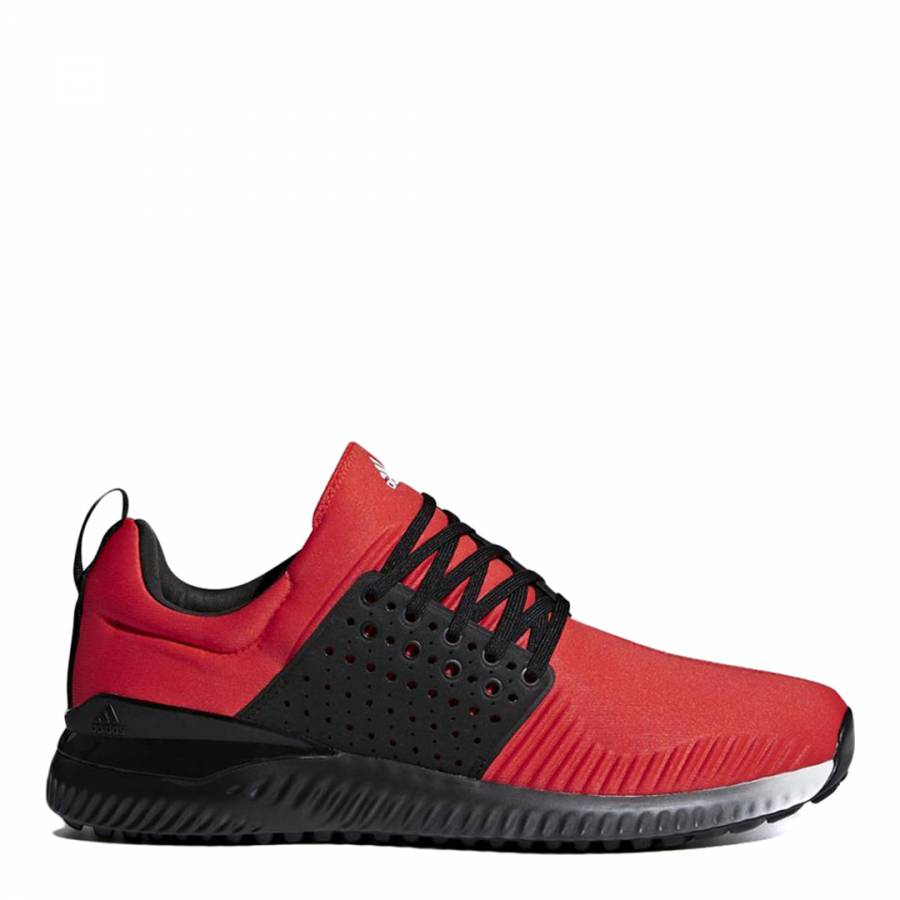 sports shoes 35cad c953b Adidas Golf Red Adicross Textile Bounce Trainers
