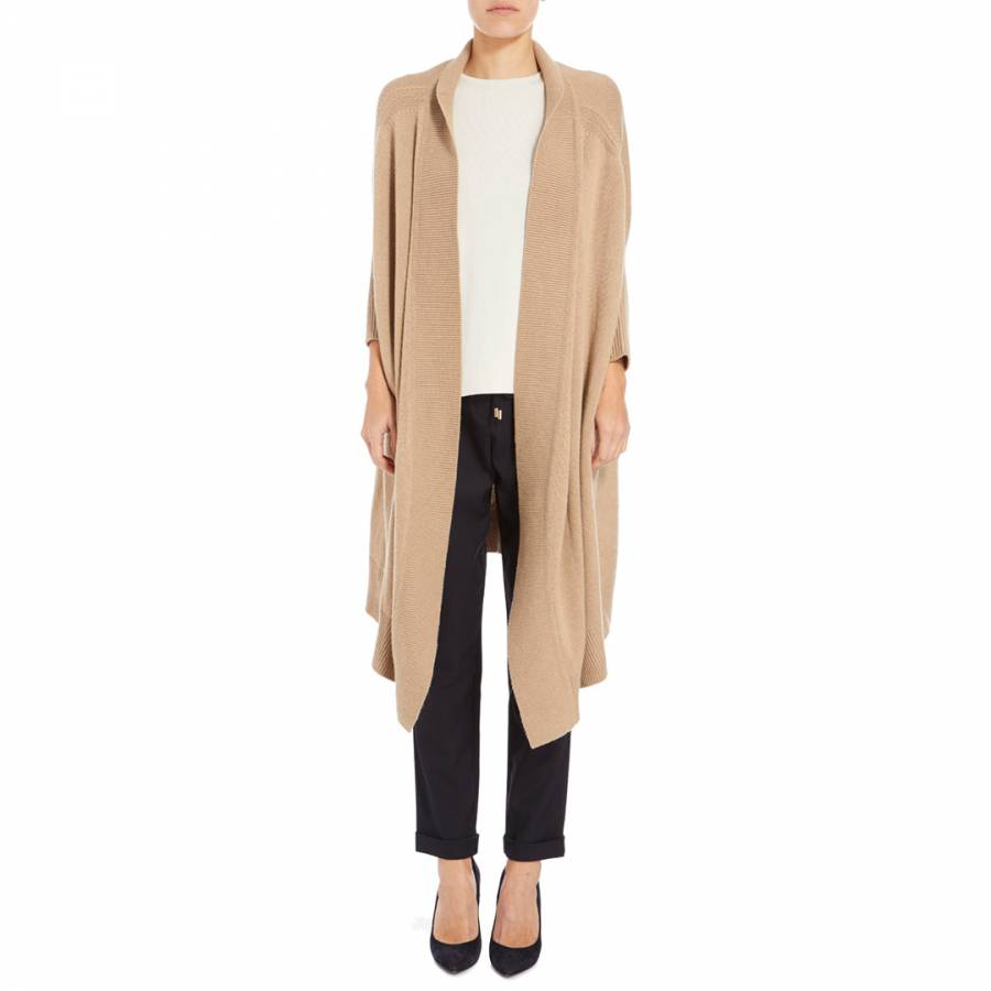 a3f27815259132 Boss by Hugo Boss. Camel Farela Wool Blend Cardigan. £129.00 Was £350.00  63% Off. Apricot Rosina Cold Shoulder Top