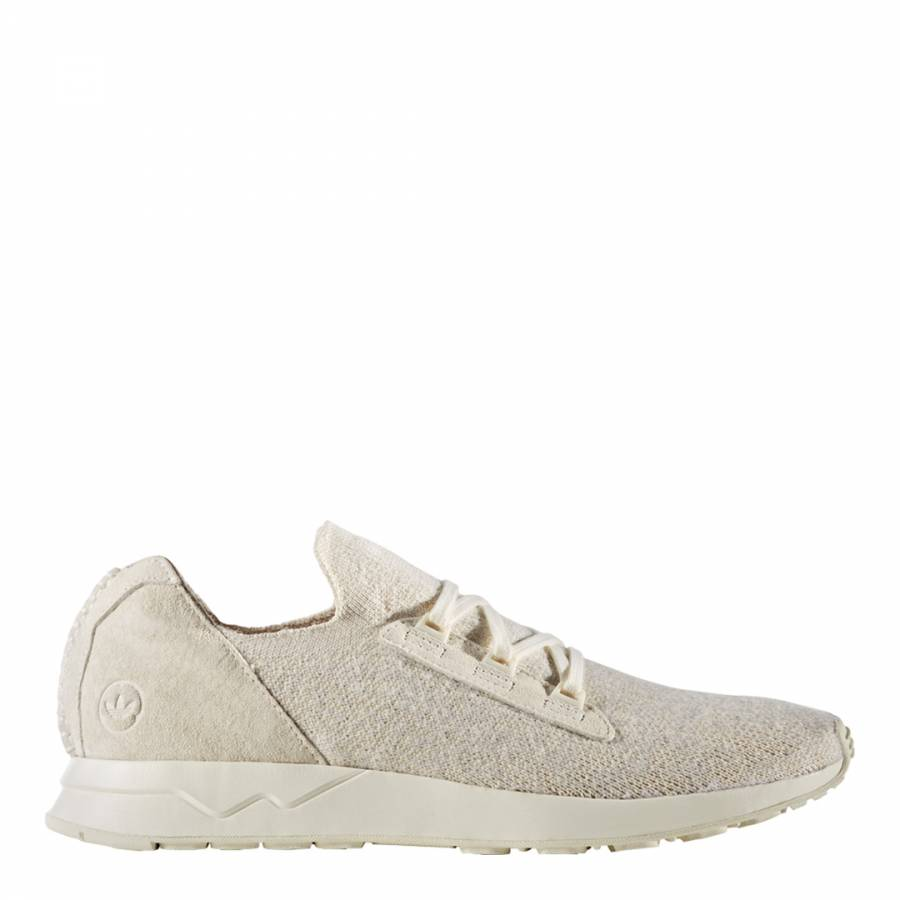 74f83936d Adidas Originals by Wings+Horns White Adidas Wings+Horns ZX FLUX X PK  Sneakers