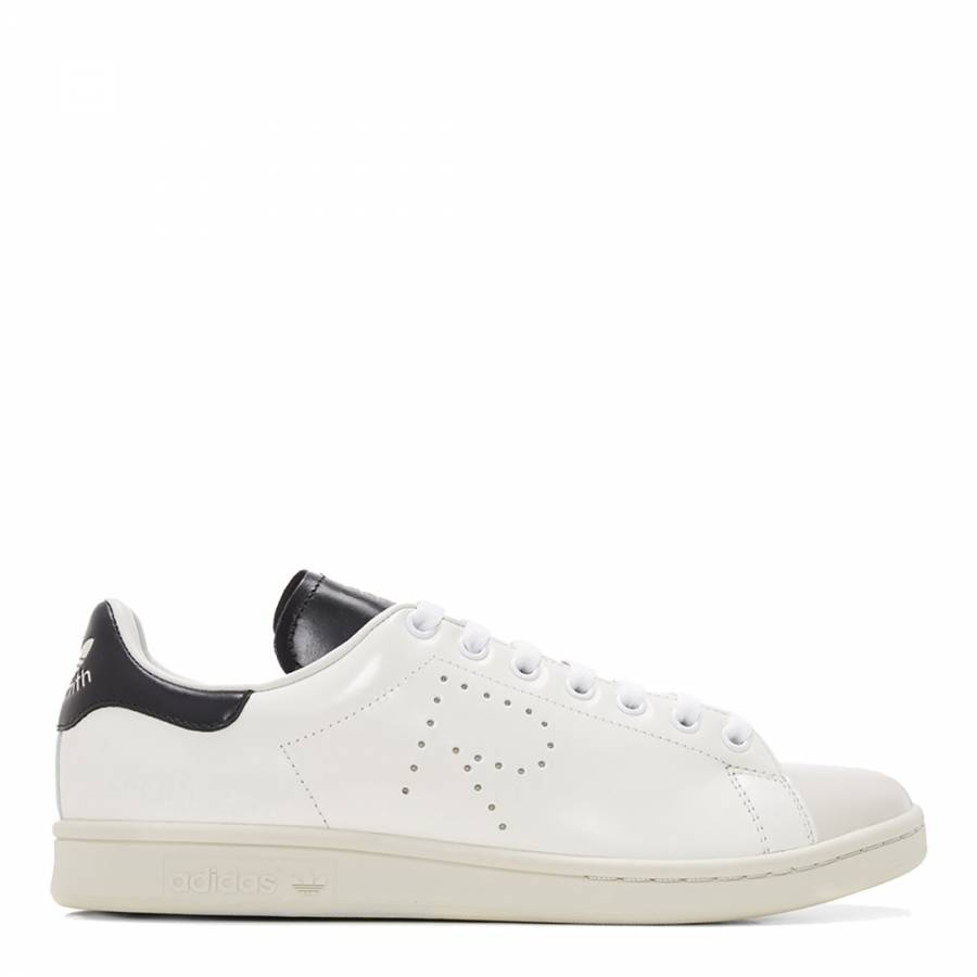 purchase cheap 1095e be581 Adidas By Raf Simons White Leather Raf Simons Stan Smith Sneakers