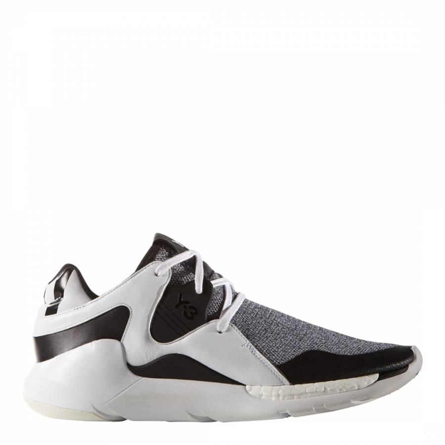 7705153c611c7 White Adidas Y-3 QR Run Sneakers - BrandAlley