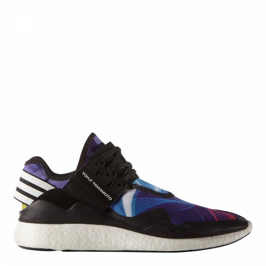 6dada8ce5db5a Black Y-3 Retro Boost Sneakers - BrandAlley