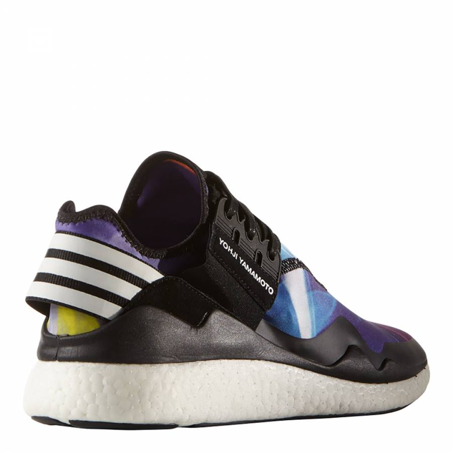 3f123f8d92cfc ADIDAS Y-3 YOHJI YAMAMOTO Men s Black Y-3 Retro Boost Lace up ...