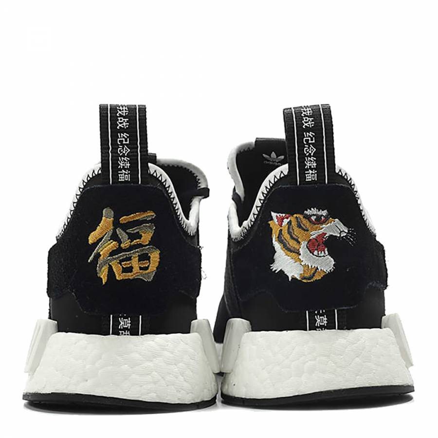 online store c0f0c 0fd94 Black Adidas NMD R1 x Invincible x Neighborhood Sneakers ...