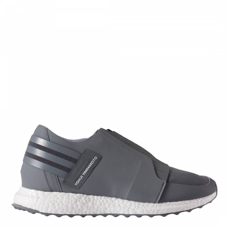 80ded40f5416 Grey Y-3 X-Ray Zipped Low Sneakers - BrandAlley