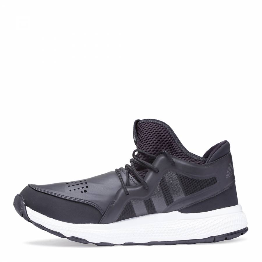 c2e6d7708e0f6 ADIDAS Y-3 Men s Black Sport On Court Lightweight Reflective Lace Up  Trainers