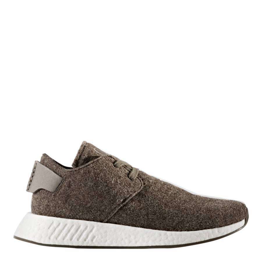 new product 5d377 eecbd Adidas Originals by Wings+Horns Brown Adidas x Wings+Horns NMD C2 Sneakers
