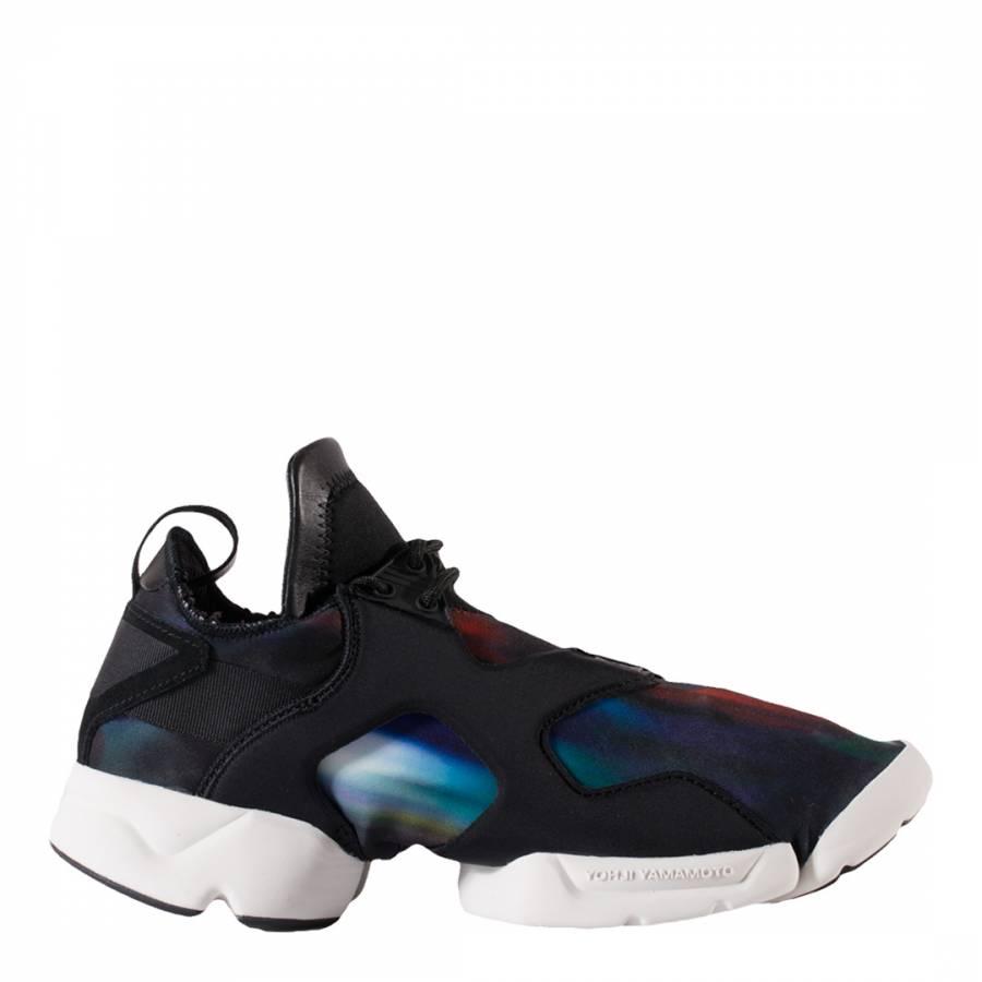best authentic 5167e 82d19 adidas Y-3 Black Y-3 Kohna Galaxy Print Sneakers