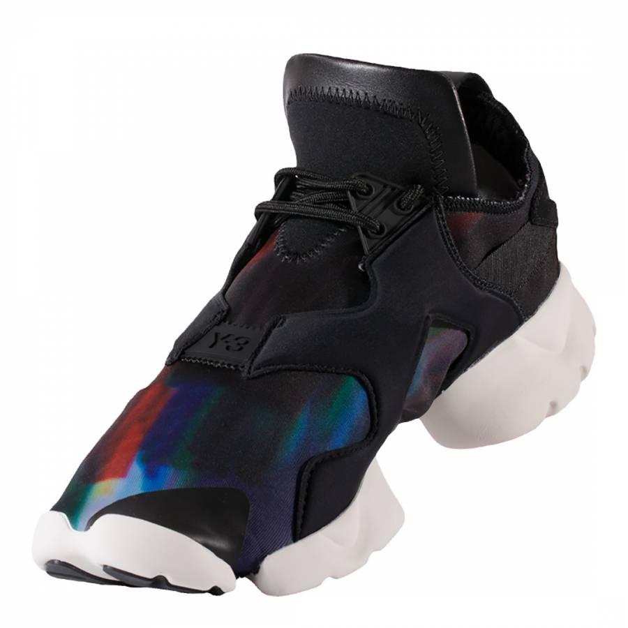 new arrival aff16 404cd Black Y-3 Kohna Galaxy Print Sneakers - BrandAlley