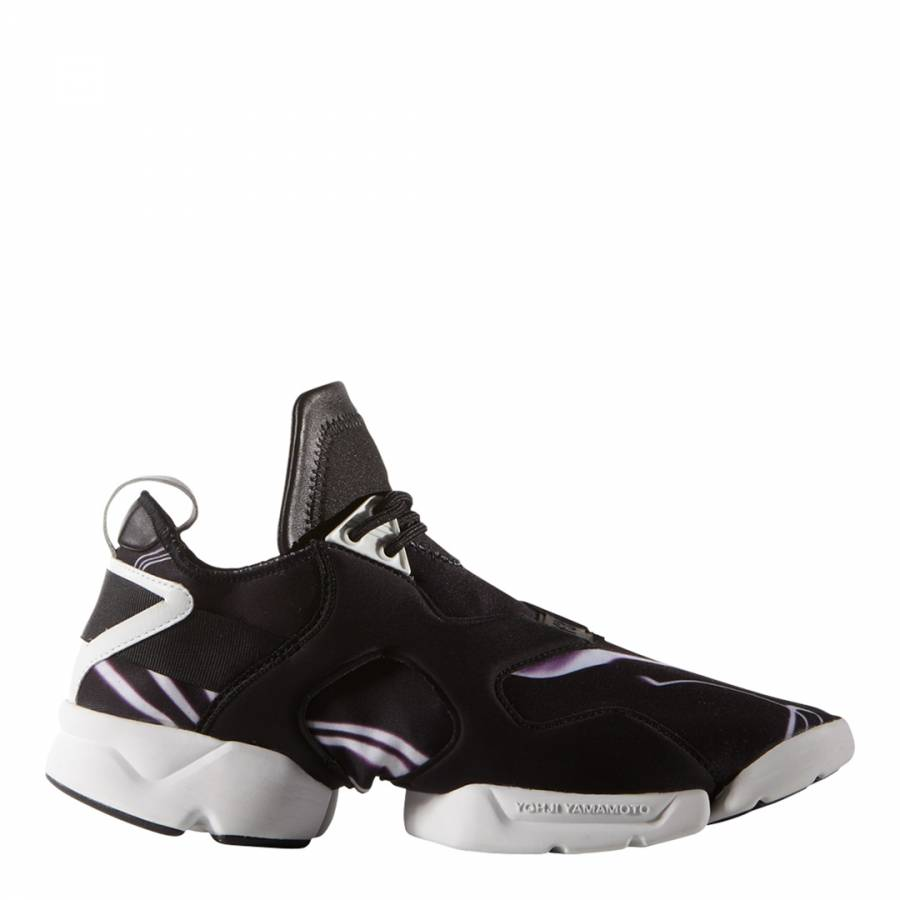 dde741abcde0a Black Y-3 Retro Boost Sneakers - BrandAlley