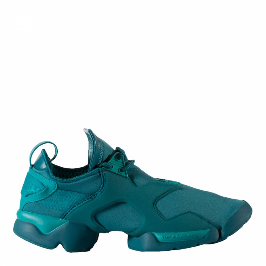 Green Y-3 Kohna Sneakers - BrandAlley f5a37856d