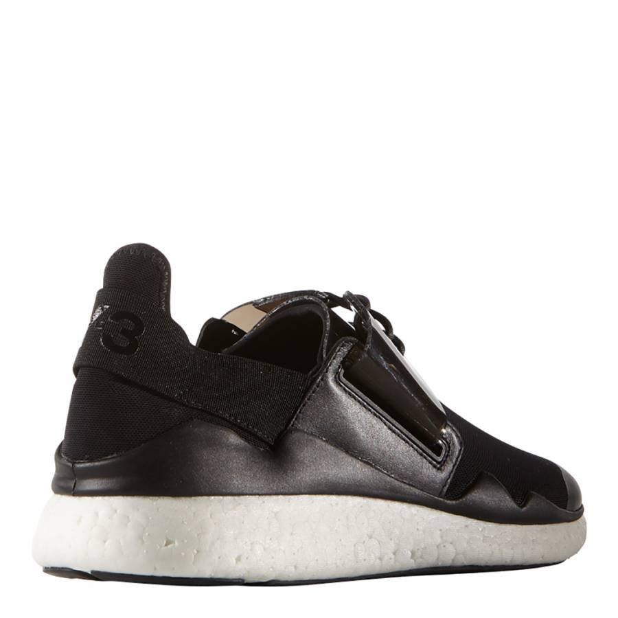 135f094793558 Black Y-3 Chimu Boost Sneakers - BrandAlley