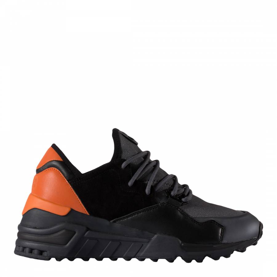 Black Y-3 Wedge Sock Run Sneakers - BrandAlley e039ca9e0