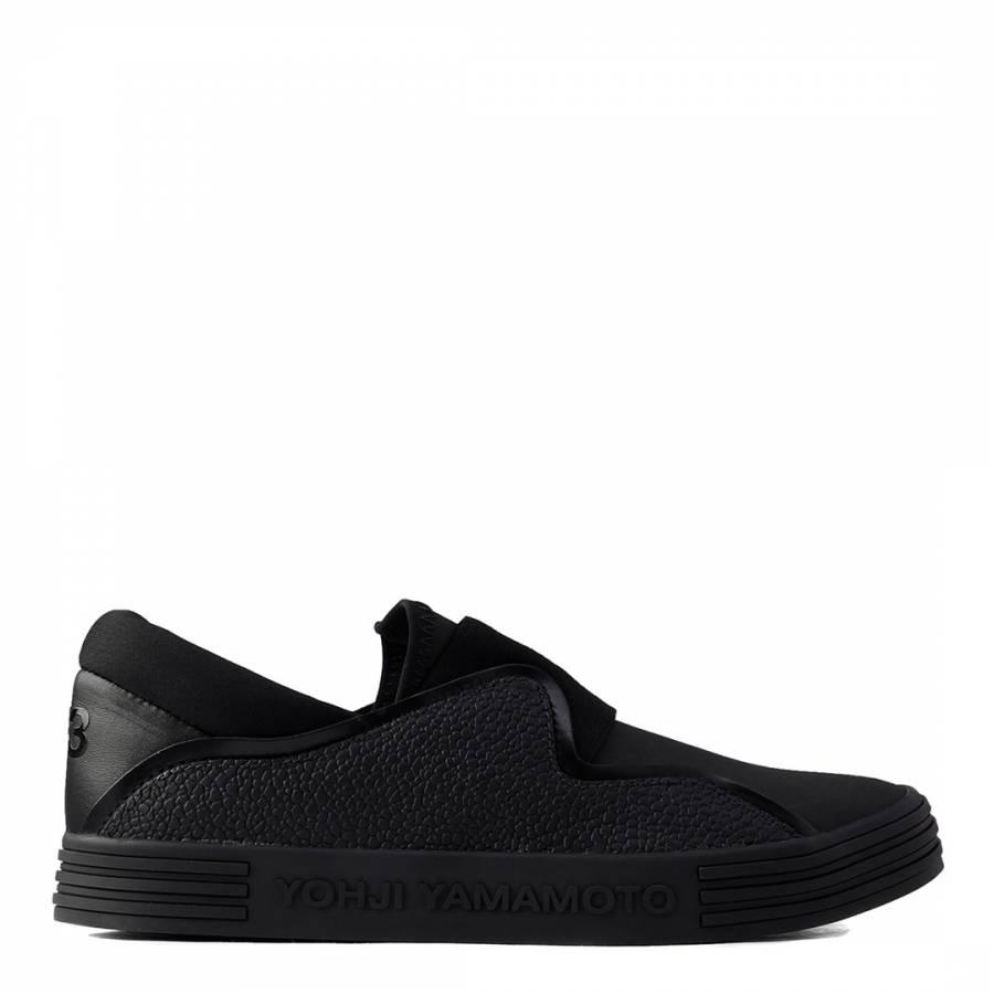 1cb92720b096 Black Y-3 Sunja Slip On Sneakers - BrandAlley