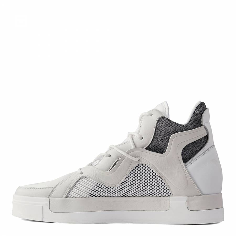 bd87a82db92b3 White Y-3 Riyal III Sneakers - BrandAlley