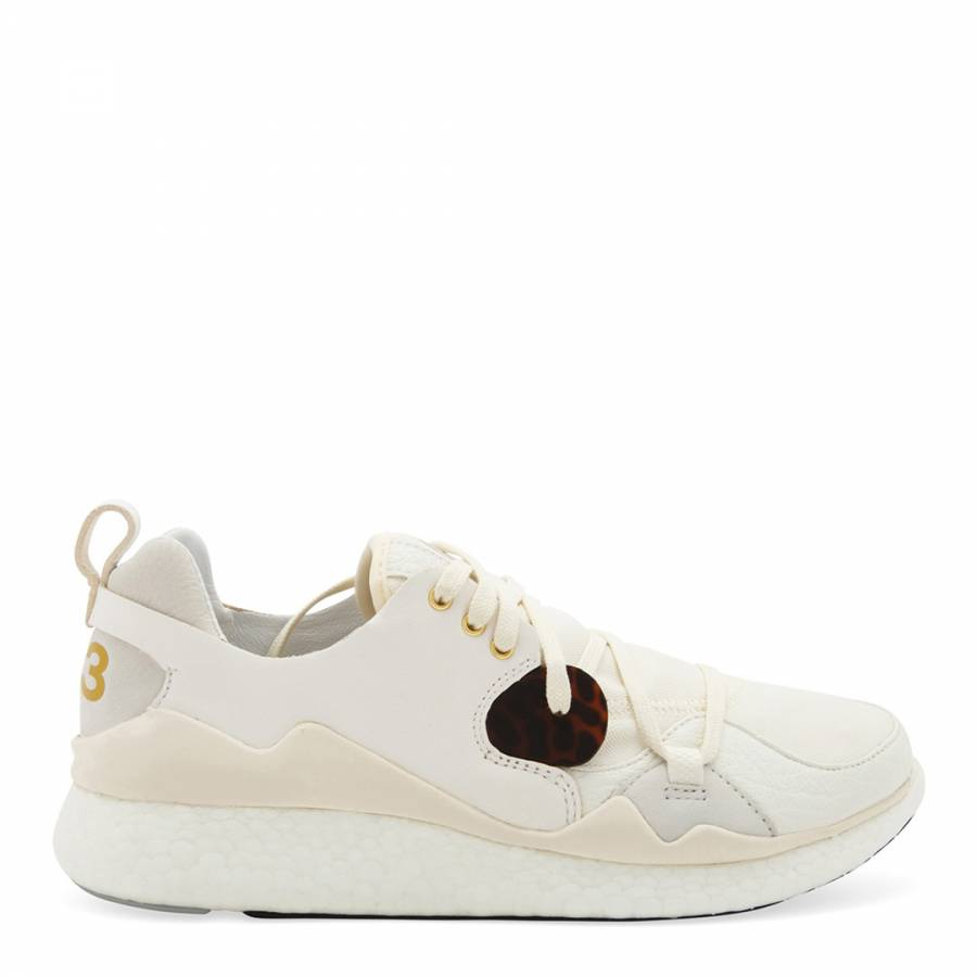 a5cc122e6134d White Y-3 Femme Boost Lace Sneakers - BrandAlley