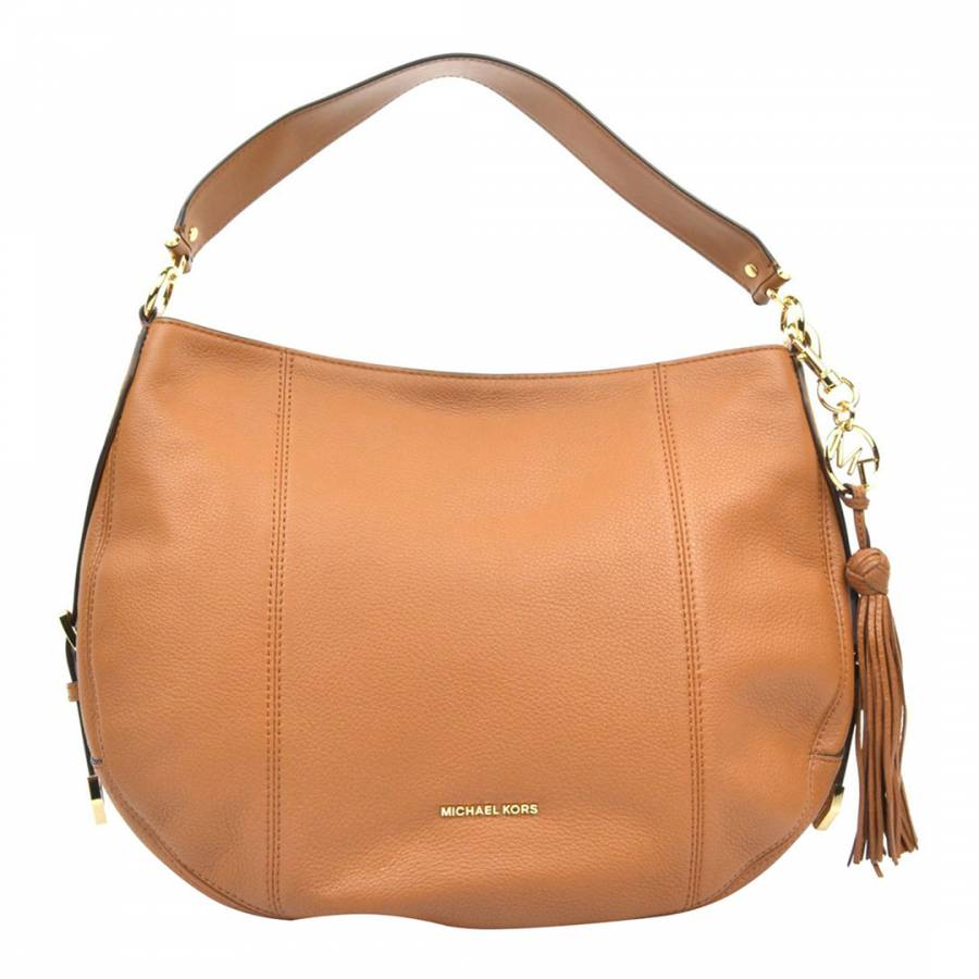 Michael Kors Cognac Michael Kors Leather Handbag