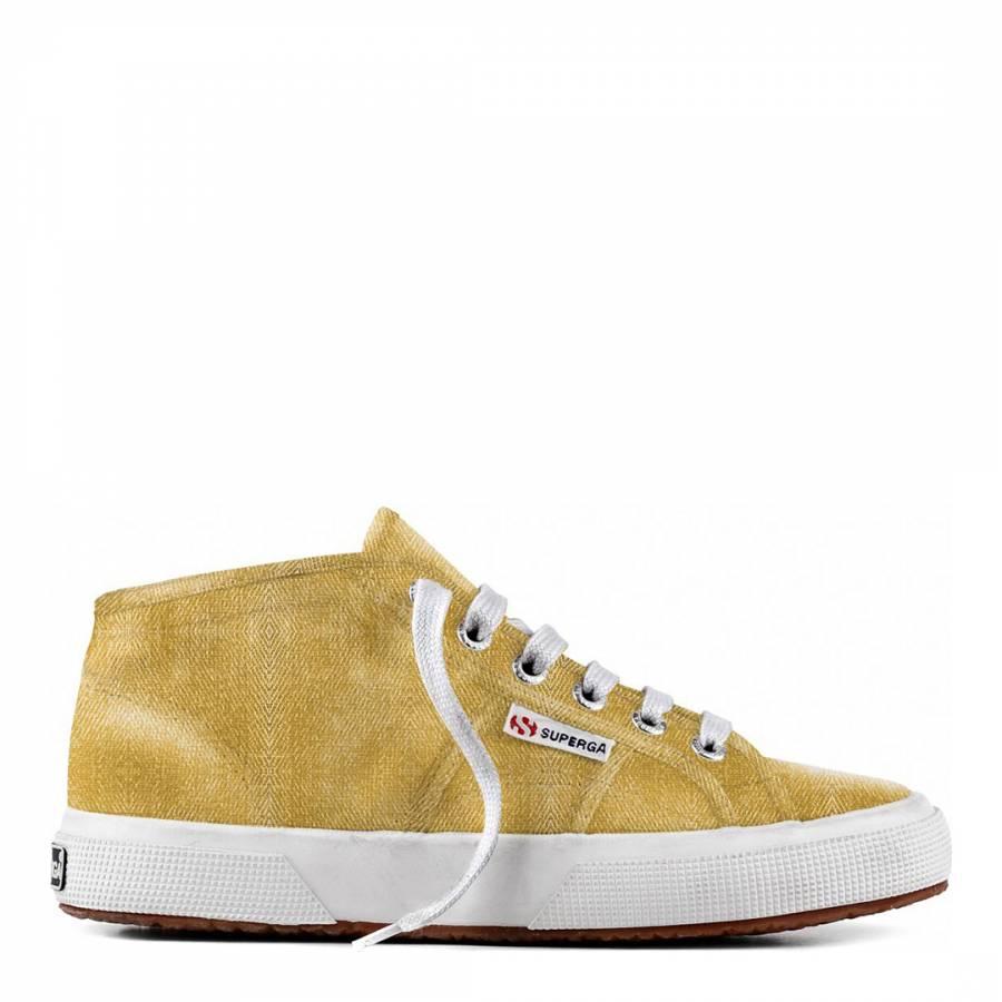 d33ebb6ed Gold 2754 Cotmetu Metallic Hi-Top Sneakers