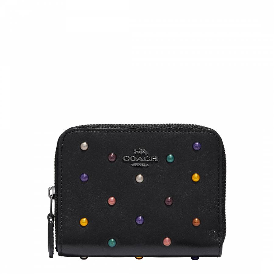 9a71608f9450 Coach Rainbow Rivets Small Zip Around Wallet. prev. next. Zoom
