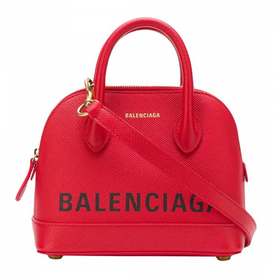 5cfc3fc67 Red Balenciaga Ville XS Crossbody Bag - BrandAlley