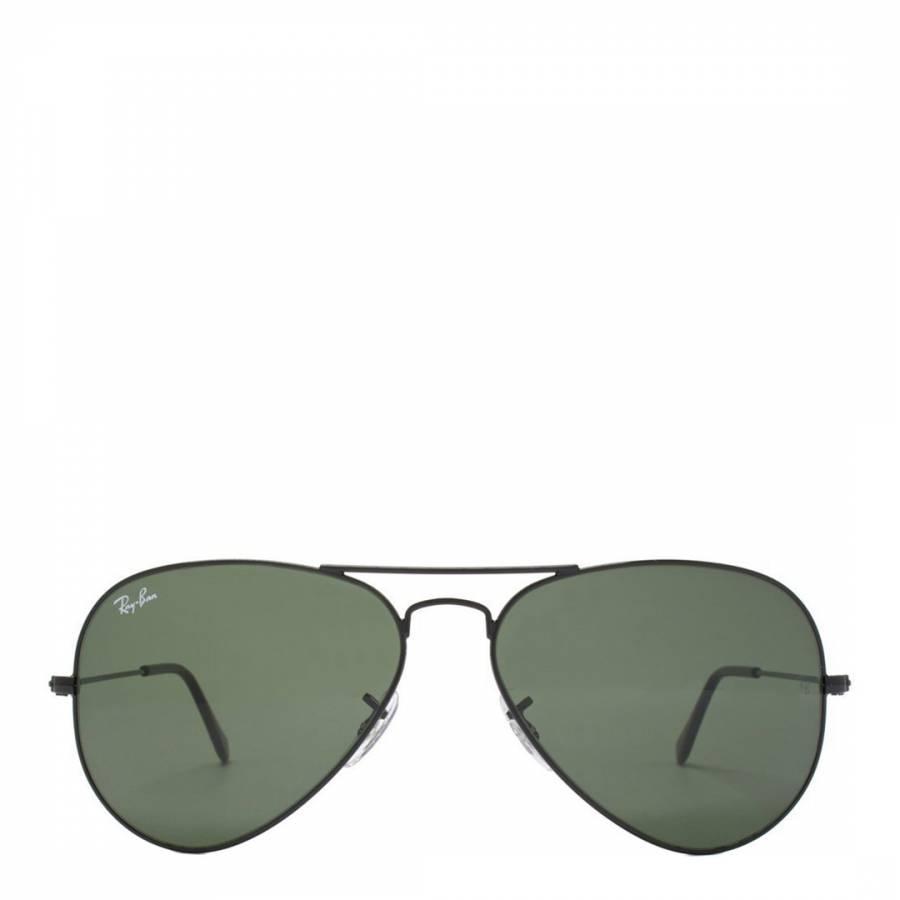 0d8286ef131 Black Men Aviator Ray Ban Sunglasses 58mm - BrandAlley