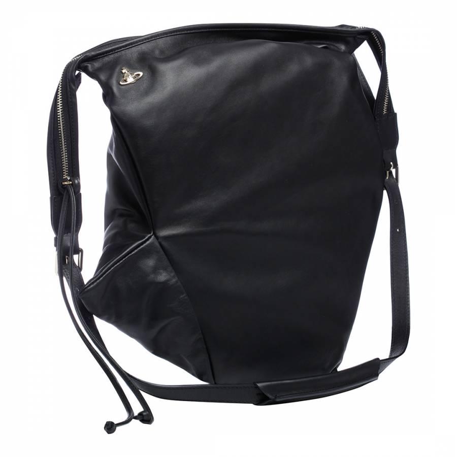 891036dfeef Vivienne Westwood Black Tintwistle Large Shoulder Bag