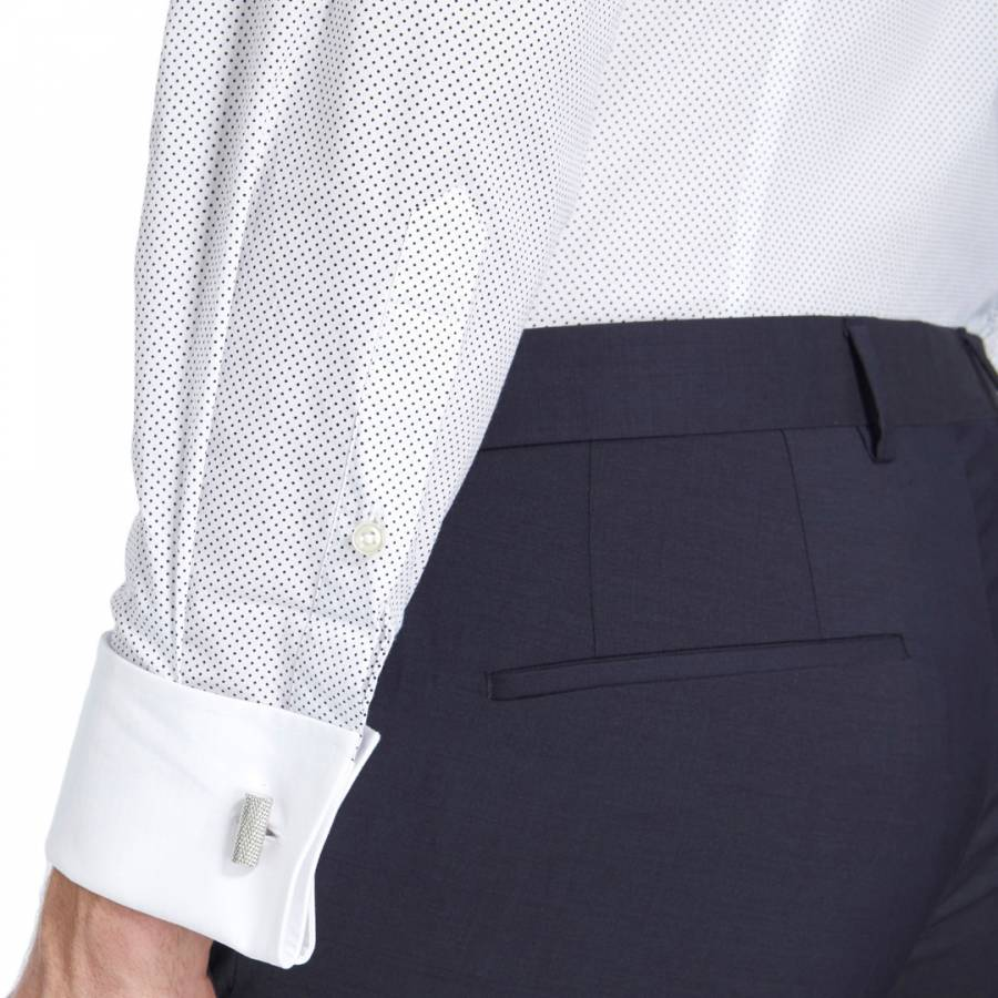 5dc03b724 Navy Genius Slim Leg Suit Trousers - BrandAlley