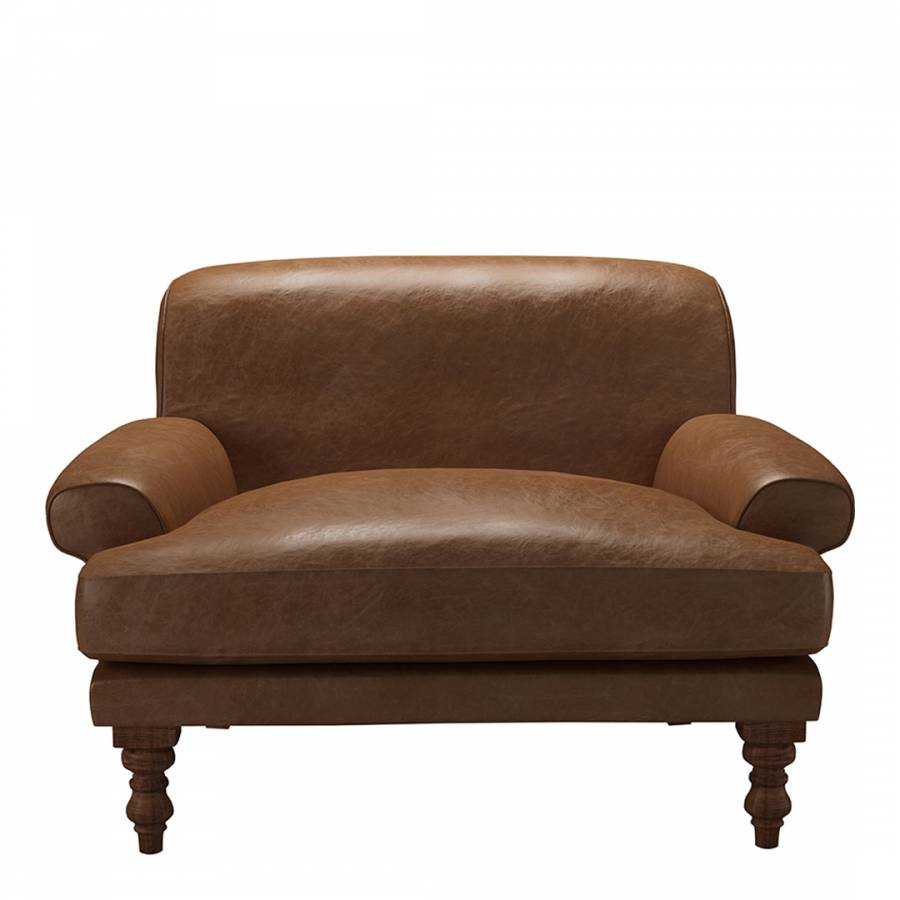 Pleasant Saturday Loveseat In Tan Vintage Leather Brandalley Bralicious Painted Fabric Chair Ideas Braliciousco