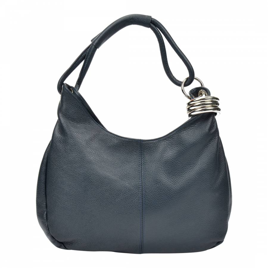 b064dddfd Carla Ferreri Blue Hobo Shoulder Bag. prev. next. Zoom