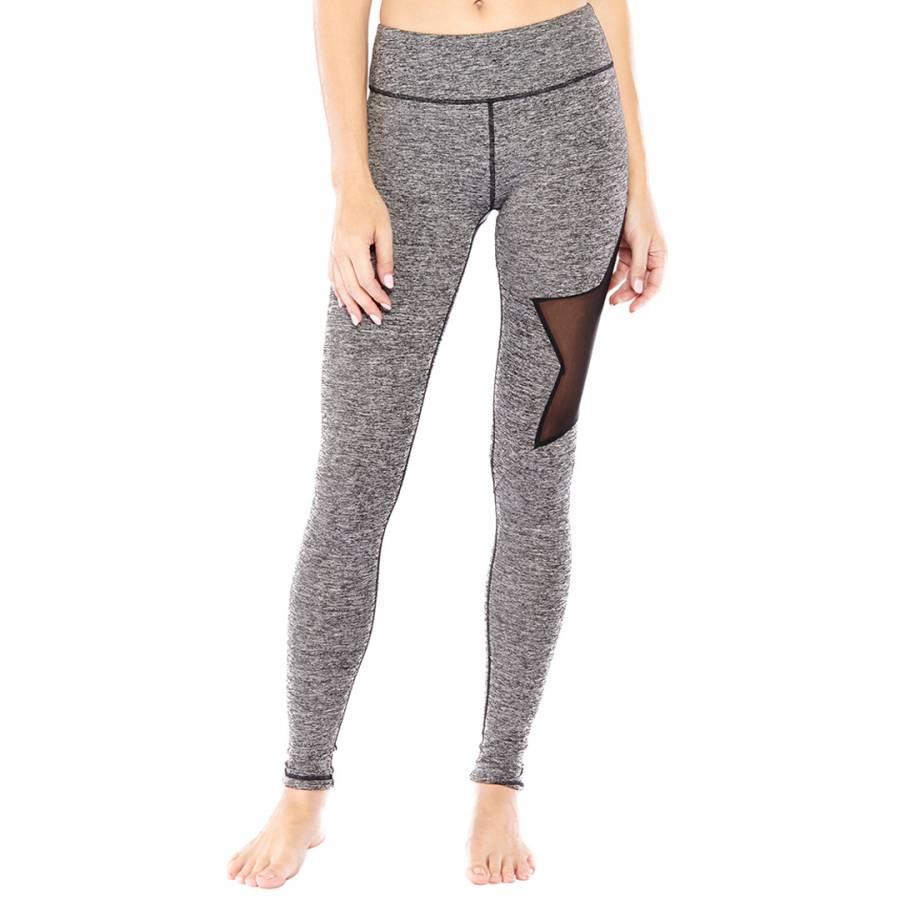 f81e5b8419d64 Electric Yoga Heather Grey Star Leggings