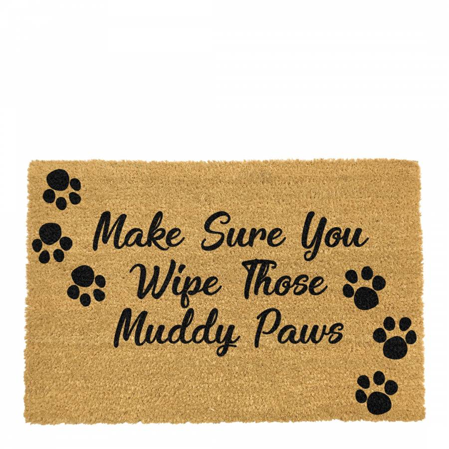 Natural Country Home Wipe Your Paws Extra Large Doormat Brandalley