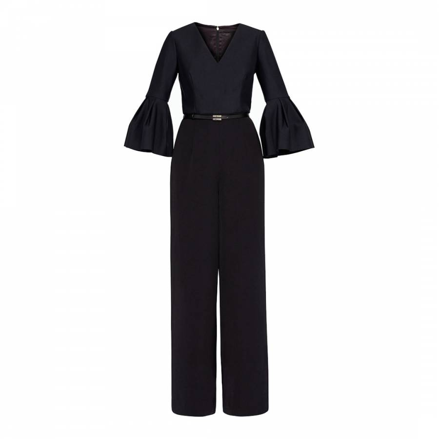 a5680491126 Black Theah Full Sleeve Jumpsuit - BrandAlley